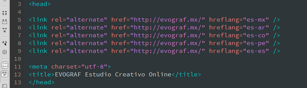 Insertar Etiqueta hreflang WordPress SEO etiqueta hreflang para el SEO